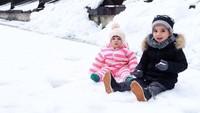 Banyak netizen bilang, Dragan ganteng kayak sang ayah dan Irina lucu mirip boneka. (Foto: Instagram @lelhyspaso)