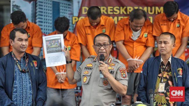 Polisi menyebut salah satu alasan 66 WN China menipu di Indonesia karena banyak orang WNI Tionghoa sehingga tidak mudah dicurigai.