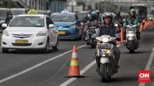 PSBB Transisi DKI, Sepeda Motor Pribadi Kena Ganjil Genap