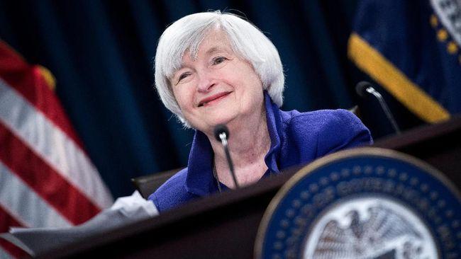 Janet Yellen, eks Gubernur The Fed, dicalonkan oleh Joe Biden sebagai Menteri Keuangan baru.