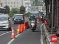 Atasi Macet Dalih Polisi Singkirkan Pembatas Jalur Sepeda