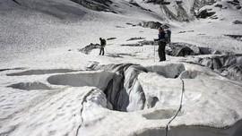 Pencairan Gletser di Greenland Terus Berlanjut