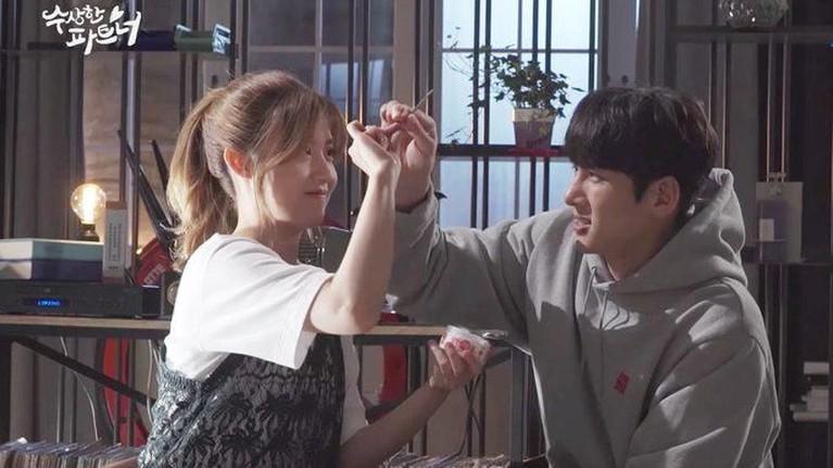 Lewat drama Suspicious Partner, Ji Chang Wook dan Nam Ji Hyun merasa gugup saat melakukan adegan ciuman. Alhasil mereka pun sempat berlatih sebelum adegan dimulai.