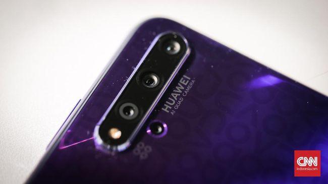 Huawei Nova 5T. (CNN Indonesia/ Hesti Rika)