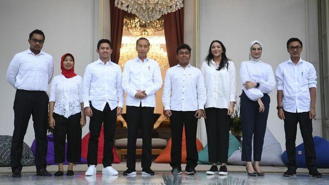 Stafsus Milenial Ditugasi Jadi Teman Diskusi Harian Jokowi