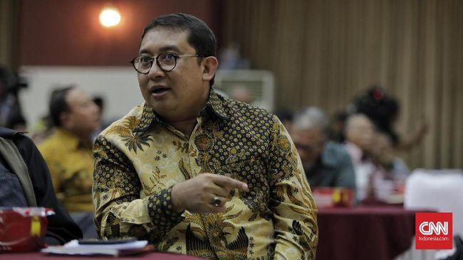 Wakil Ketua Umum Partai Gerindra Fadli Zon  saat bedah buku