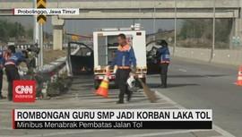 VIDEO: Minibus Rombongan Guru SMP Kecelakaan, 1 Tewas