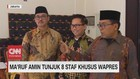 VIDEO: Ma'ruf Amin Tunjuk 8 Staf Khusus Wapres