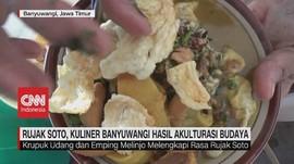 VIDEO: Rujak Soto, Kuliner Banyuwangi Hasil Akulturasi Budaya