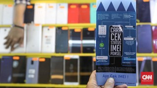 Modus Pedagang Ponsel BM Batam Hindari Aturan IMEI