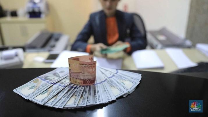 Pukul 09:00 WIB: Rupiah Melemah di Rp 15.400/US$