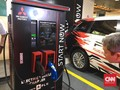 Ikuti Mercy, Mitsubishi Punya Tempat Cas Mobil Listrik di Mal