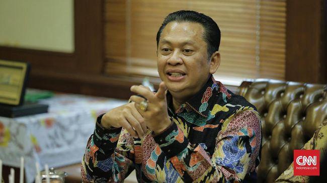 Ketua MPR Bambang Soesatyo meminta pemerintah mempertimbangkan opsi lockdown regional per pulau merespons lonjakan covid-19.