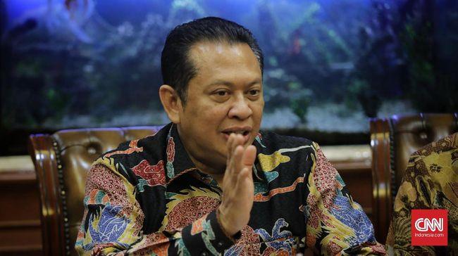 Ketua MPR Bambang Soesatyo saat melakukan kunjungan ke kantor PBNU. Jakarta, Rabu, 27 November 2019.