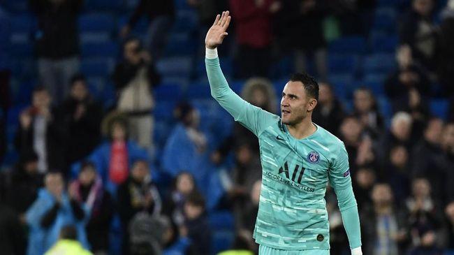 Kiper Paris Saint-Germain Keylor Navas mendadak viral lantaran maju hampir setengah lapangan saat melawan Istanbul Basaksehir di Liga Champions.