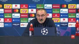 VIDEO: Sarri Takjub Gol Dybala untuk Juve di Liga Champions