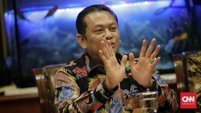 Ketua MPR Bambang Soesatyo disebut telah berkomitmen untuk tidak maju dalam pemilihan Ketum Partai Golkar.