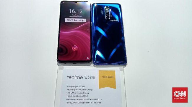 Realme mendaratkan dua ponsel flagship teranyar, yakni Realme X2 Pro dan ponsel level entry Realme 5S pada hari ini (27/11).
