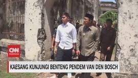 VIDEO: Kaesang Kunjungi Benteng Pendem Van Den Bosch
