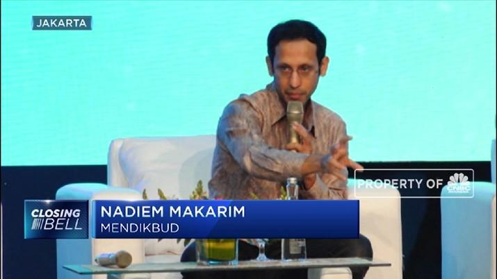Mendikbud Nadiem Usul Kurikulum Baru (CNBC Indonesia TV)