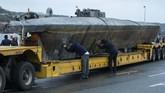 Sebuah kapal selam tak dikenal yang ditangkap di Kota Cangas, Galicia, Spanyol, memuat narkotika jenis kokain sebanyak tiga ton.