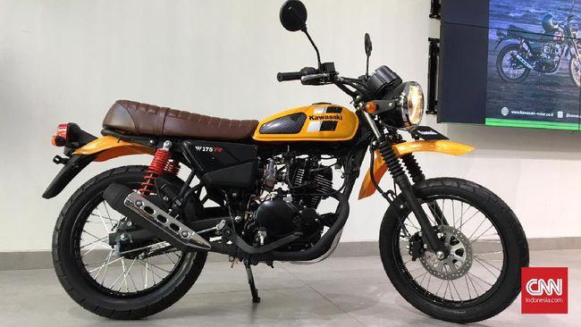 Kawasaki Sediakan Motor Scrambler 'Murah'