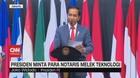 VIDEO: Presiden Minta Para Notaris Melek Teknologi