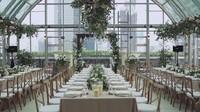 <p>Pertunangan Boy dan Karen berlangsung di venue besar dan mewah. Banyak tamu yang yang diundang dan terlibat di momen spesial tersebut. (Foto: YouTube/ Boy William)</p>