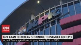 VIDEO: KPK Akan Terbitkan SP3 Untuk Tersangka Korupsi