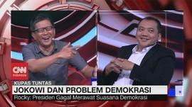 VIDEO: Rocky Vs Taufik Soal Komitmen Jokowi Berantas Korupsi