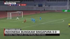 VIDEO: Indonesia Bungkam Singapura 2-0