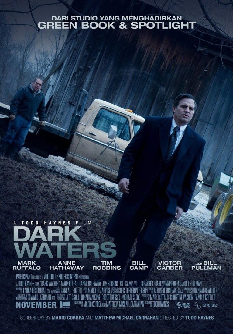 Untuk yang suka dengan genre misteri, memilih menonton Dark Waters menjadi pilihan tepat yang sayang untuk dilewatkan.