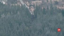 VIDEO: Pesawat Jatuh di Kanada, Seluruh Penumpang Tewas