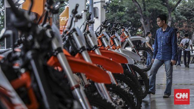Kemenperin menargetkan ekspor sepeda motor melonjak menjadi 1,75 juta unit pada 2035.