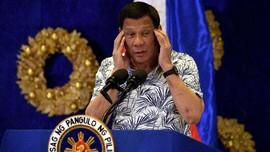 Duterte Perintahkan Tangkap Warga yang Pakai Masker Tak Benar