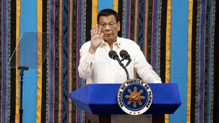 Presiden Filipina Minta Bea Cukai Habisi Penyelundup Narkoba