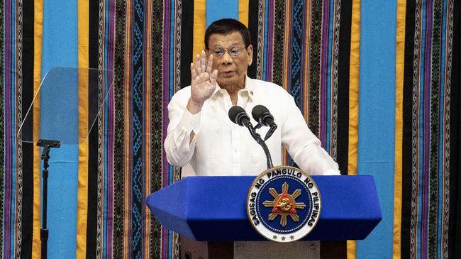 Presiden Rodrigo Duterte menyatakan bahwa ia bersedia merelakan jatah dosis vaksin Covid-19 untuknya kepada warga yang masih dalam usia produktif.