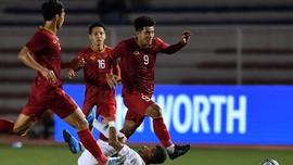 FOTO: Indonesia Tumbang di Hadapan Vietnam pada SEA Games