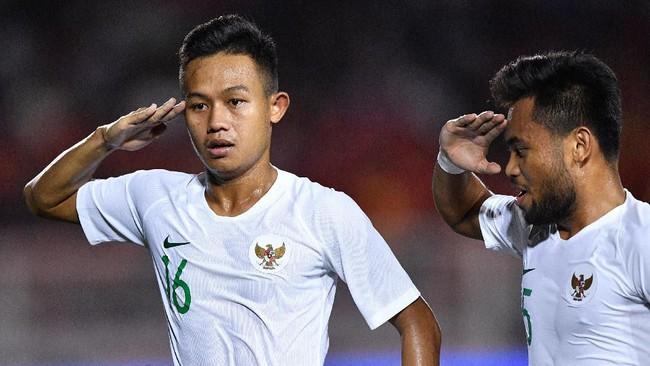 Indonesia kalah dari Vietnam pada SEA Games 2019. Berikut foto-foto pilihan dari laga tersebut.
