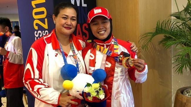 Nasib medali emas dancesport yang diraih Dwi Cindy Desana dari nomor breaking putri menunggu hingga pagelaran SEA Games 2019 usai pada Rabu (11/12).