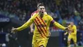 Lionel Messi dan Marc-Andre Ter Stegen menjadi pahlawan kemenangan Barcelona saat mengalahkan Atletico Madrid 1-0 pada lanjutan Liga Spanyol.