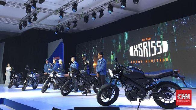 Yamaha Indonesia meluncurkan tiga motor baru, yaitu XSR 155, NMax, dan WR 155R.