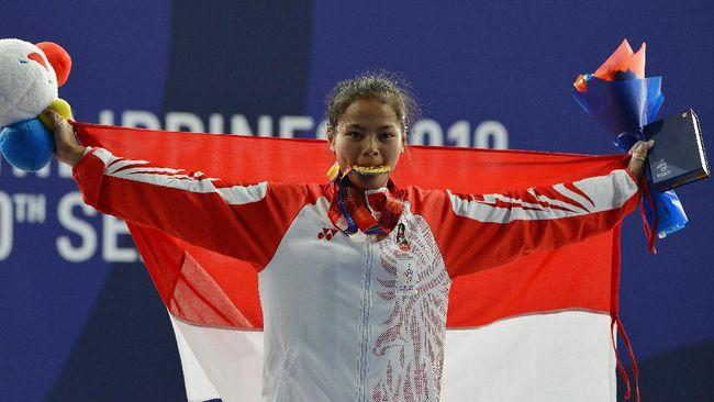 Lifter Windy Cantika Aisah dipastikan lolos ke Olimpiade Tokyo setelah merebut medali perunggu pada Kejuaraan Asia Angkat Besi 2021.