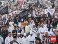 Massa Reuni Akbar 212 Bubar Sambil Berselawat