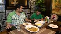 <p>Ruang makan dengan pencahayaan kuning ini membuat terkesan romantis ya. (Foto: YouTube Brownis Trans TV)</p>