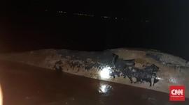 Paus 7 Meter Ditemukan Terdampar di Pesisir OKI Sumsel