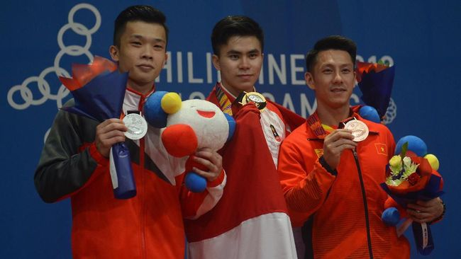 Edgar Xavier Marvelo mempersembahkan dua emas SEA Games 2019 untuk sang ayah, Lo Tjhiang Meng, yang meninggal beberapa jam sebelum laga final.