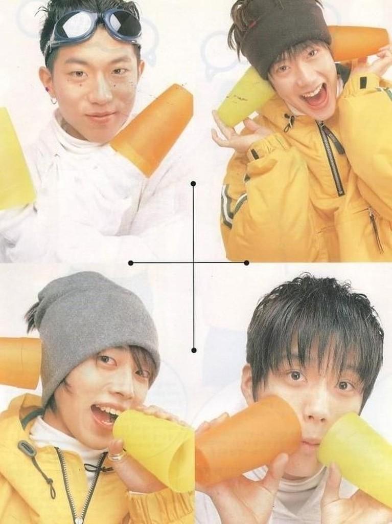 Enam potret lawas dari boygroup asal Korea Selatan, Taesaja. Seperti apa kabarnya kini?