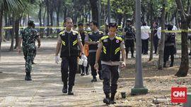 Jokowi Perintahkan Usut Tuntas Ledakan Granat di Monas