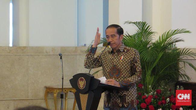 Presiden Jokowi meminta agar tiap kebijakan yang diamil kementerian/lembaga memiliki nilai-nilai Pancasila.